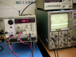 Oscillator working, whee